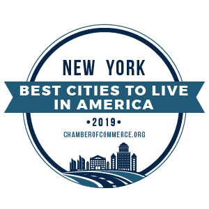 Logo: New York Best Cities to Live in America