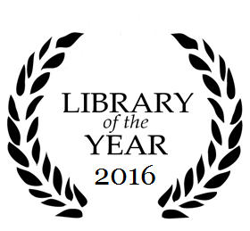 library of the year logo